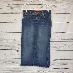 Vintage Lucaya Tight Fit Denim Skirt Sz S